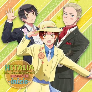 [Hetalia]Drama CD The Beautiful World -inizio -animate Exclusive ver. - CD
