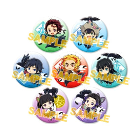 [Demon Slayer] B7 Trading Tin Can Buttons Demon Slayers Carried by Kasugai Crow vol.1 - Character Goods