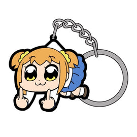 [Pop Team Epic] Popuko FXXK OFF TSUMAMARE Key Chain - Character Goods