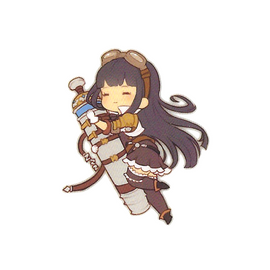 [Granblue Fantasy] Die Cut Sticker N Jessica - Character Goods