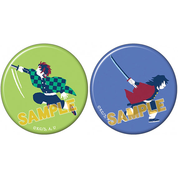 [Demon Slayer] Can Badge Set Yuru Palette vol.3 A - Character Goods