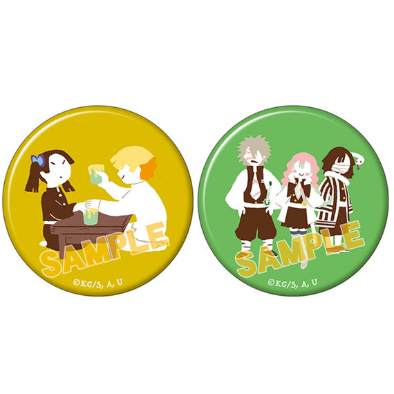 [Demon Slayer] Can Badge Set Yuru Palette vol.4 C - Character Goods