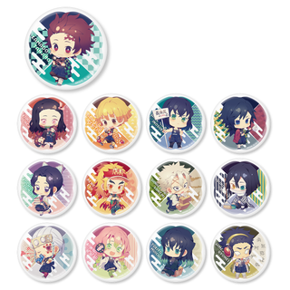 [Demon Slayer] Character Badge Collection (Apron Ver.) - Animate Overseas Exclusive