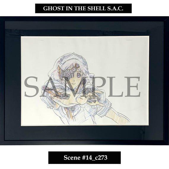 [Ghost in the Shell S.A.C.] Key Art Reproductions Scene  #14_c273 - Fine Arts