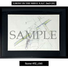 [Ghost in the Shell S.A.C. 2nd GIG] Key Art Reproduction/ Scene 52_c161 - Fine Arts