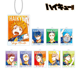 [Haikyu!!] Trading Ani - Art  Acrylic Keychain vol.2 - Blind Box
