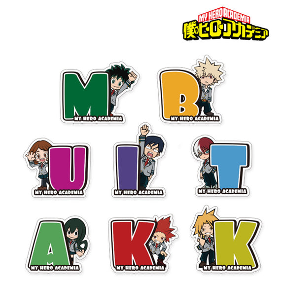 [My Hero Academia] Trading Initial Acrylic Magnet - Blind Box