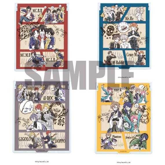 [Hypnosis Mic -Division Rap Battle-] Foldable Character Mirror (4 kinds) - Graff Art
