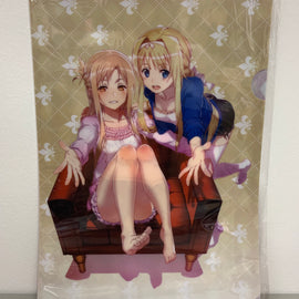 [Sword Art Online] Alicization Asuna & Alice Clear File Folder - Character Goods