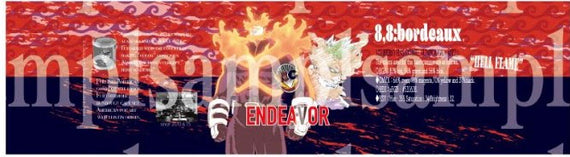 [My Hero Academia] Pen Can Collection 6. Endeavor - Character Goods