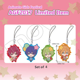 [Marginal 4]AGF -Animate Girls Festival 2017 in Japan- Rubber Charm Set
