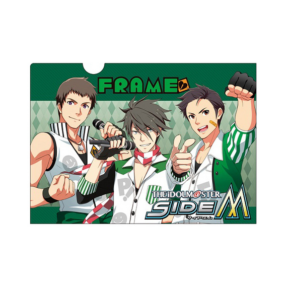 [The Idolm@ster] (Idolmaster) SideM FRAME Clear Folder B - Character Goods