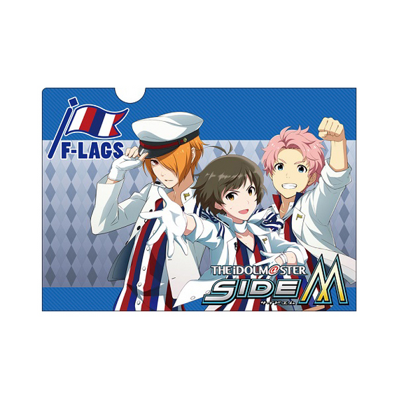 [The Idolm@ster] SideM F-LAGS  Clear Folder H - Character Goods