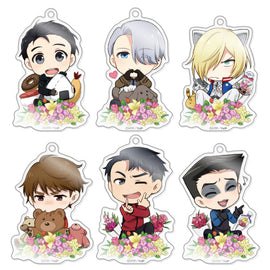 [Yuri!!! on ICE] CharaForm Acrylic Strap Collection Vol. 3 - Blind Box