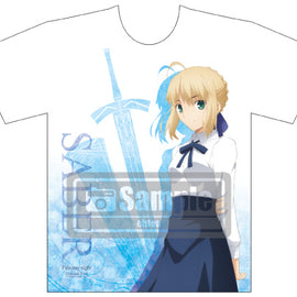 [Fate/Stay Night] Heaven's  Feel Full Color T-Shirt - Character Goods