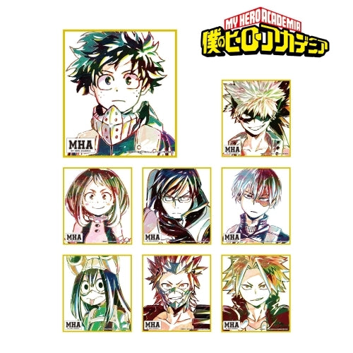 [My Hero Academia] Trading Ani-Art Mini Shikishi - Blind Box