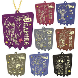 [Zombie Land Saga] Rubber Key Chain Collection Box - Character Goods