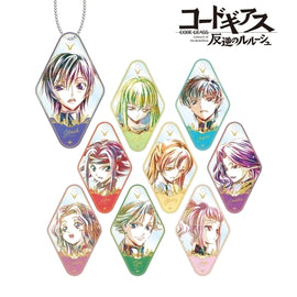 [Code Geass] Lelouch of the Rebellion Trading Ani - Art Acrylic Key holder vol.2 - Blind box