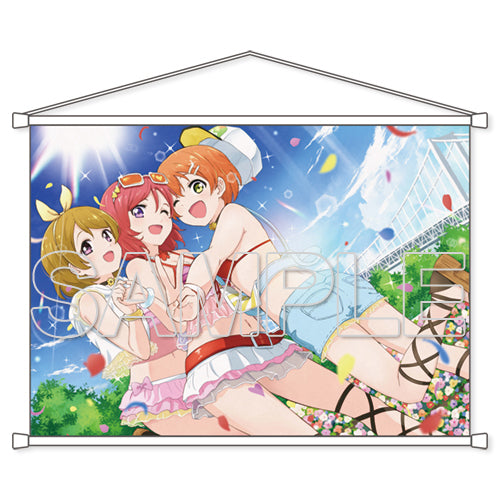 [Love Live!] B2 Tapestry μ's First Year Ver. - Wall Scroll