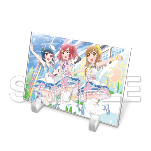 [Love Live!Sunshine!!] Acrylic Plate Aqours First Year Ver. - Character Goods