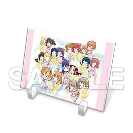 [Love Live!] Series Acryl Plate μ's & Aqours - Character Goods