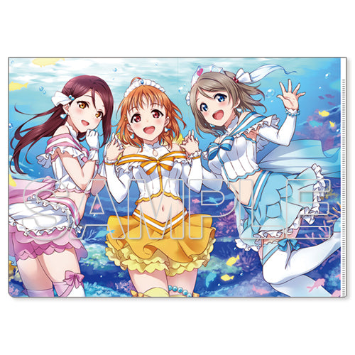 [Love Live! Sunshine!!] Aqours Second Year Ver. - Clear File