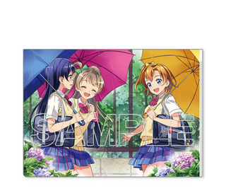 [Love Live!] μ's Second Years Ver. 2 - Clear File