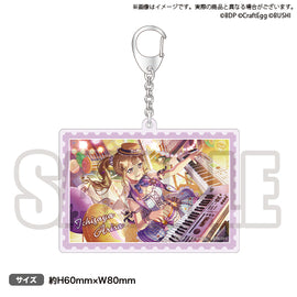 [BanG Dream! Girl's Band Party!] NO GIRL NO CRY Poppin'Party Acrylic Keychain Arisa Ichigaya - Character Goods