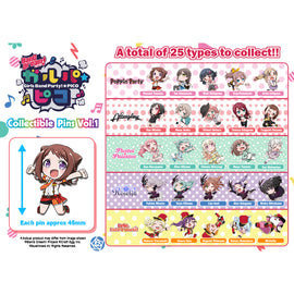 [BanG Dream! Girls Band Party!☆PICO] Collectible Pins Vol. 1 - Blind Box
