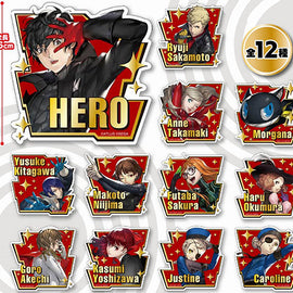 [Persona 5 Royal] Fortune Acrylic Badge - Character Goods