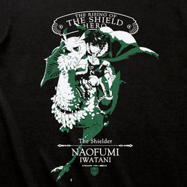 [The Rising Of The Shield Hero] Naofumi Iwatani T-shirt  S/M/L/XL/XXL Size - T-Shirt