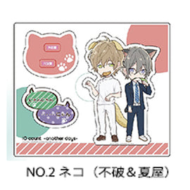 [Ten Count ~Another Days~] Acrylic Stand / Fuwa & Natsuya Cat Ver. - Character Goods