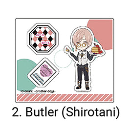 [Ten Count ~Another Days~] Acrylic Stand /Shirotani Butler Ver. - Character Goods