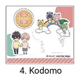 [Ten Count ~Another Days~] Acrylic Stand /Kurose & Shirotani Children Ver. - Character Goods