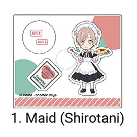 [Ten Count ~Another Days~] Acrylic Stand/ Shirotani Maid Ver. - Character Goods