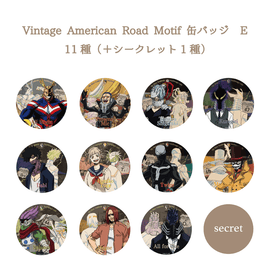 [My Hero Academia] Trading Can Badge – Vintage American Road Motif –Type E