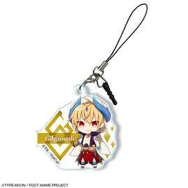 [Fate/Grand Order] -Absolute Demon Battlefront: Babylonia- Acrylic Earphone Jack Accessory 06 Gilgamesh - Character Goods