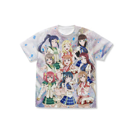 [Love Live! Sunshine!!] Aqours Full Graphic T-Shirt L/XL - Character Goods