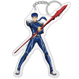 [Fate/stay night [Heaven's Feel] Lancer Acrylic key chain - Character Goods