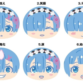 [Re:Zero -Starting Life in Another World-] Omanjuu Niginigi Mascot Rem Only!  - Blind Box