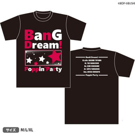 [BanG Dream! Girl's Band Party!] T-Shirt AX 2019 Ver. - T-Shirt