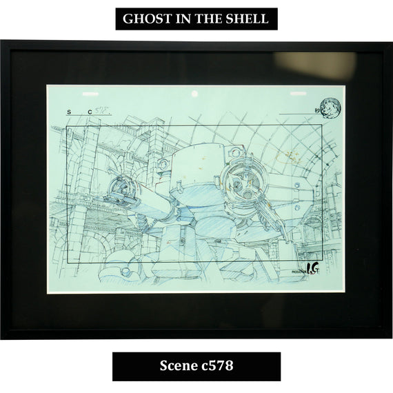 [Ghost in the Shell] Key Art Reproductions Scene c578 - Fine Arts