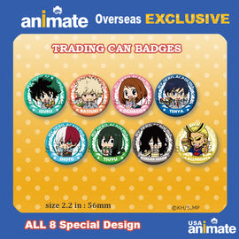 [My Hero Academia] Trading Can Badge – animate overseas EXCLUSIVE - Character Goods