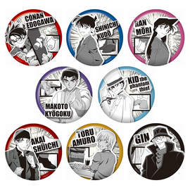 [Case Closed] Mono Classic Can Badge - Blind Box