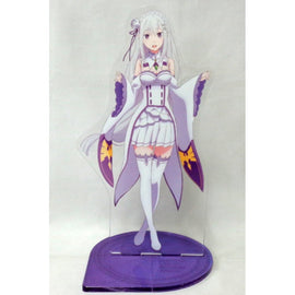 [Re:ZERO -Starting Life in Another World-] Big Acrylic Stand - Emilia