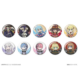 [Isekai Quartet] Trading Can Badge - Blind Box