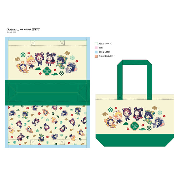 [Demon Slayer] Tote Bag (Costume Ver.) - Animate Overseas Exclusive