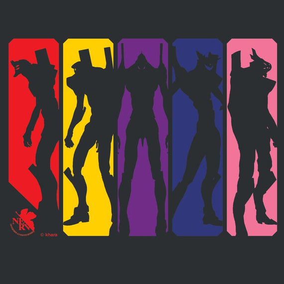 [Evangelion] Eva Silhouette / NERV Athletics / Sachiel's Emotions - T-Shirt