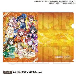 [Love Live! Nijigasaki High School Idol Club] Clear File Winter 2019 Ver. - C97 Exclusive Item