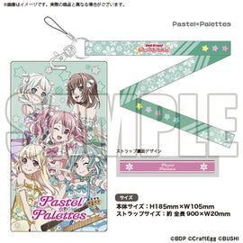 [BanG Dream! Girl's Band Party!] Ticket Holder Pastel * Palettes - Character Goods